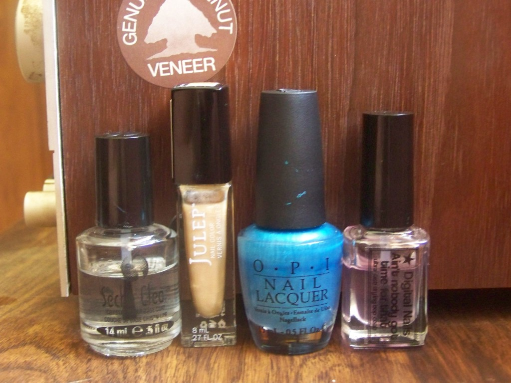 Julep's Amelia, OPI's Teal the Cows Come Home