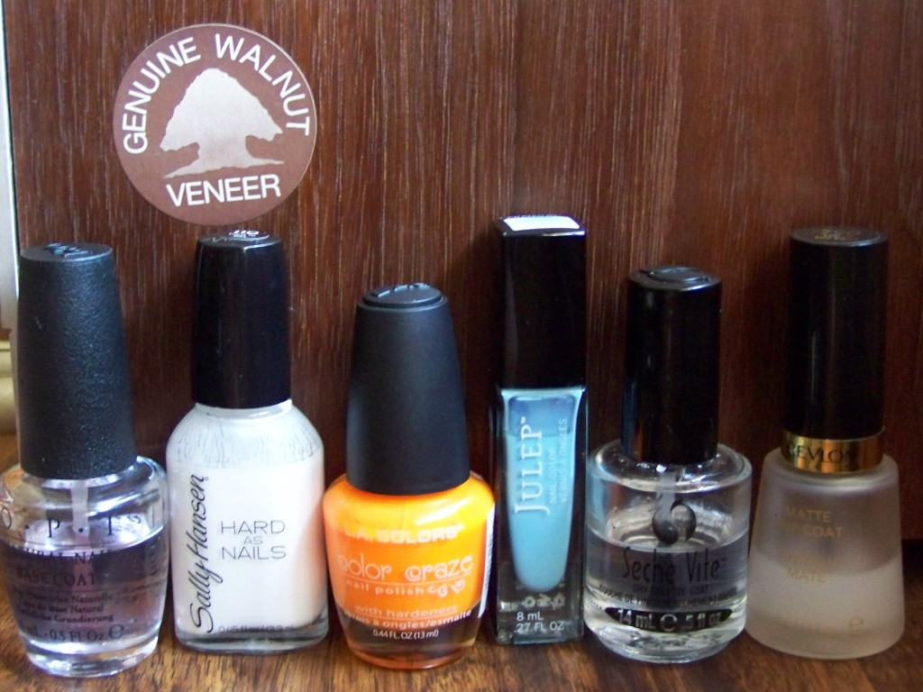 Sally Hansen's Hard to Get, LA Colors's Spat!, Julep's Bess