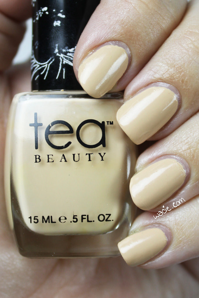 Swatch Sunday: Tea Beauty\'s Vanilla Petals - Wacie.comWacie.com